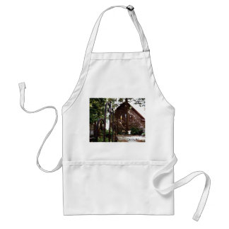 Library Gate Adult Apron