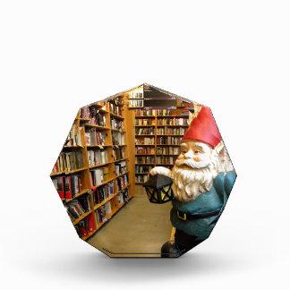 Library Gnome I Acrylic Award