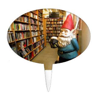 Library Gnome I Cake Topper