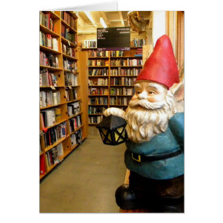 Library Gnome I Card