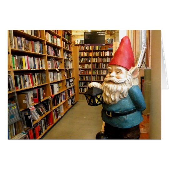 Library Gnome I Card