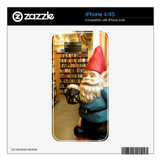 Library Gnome I Decals For The iPhone 4S