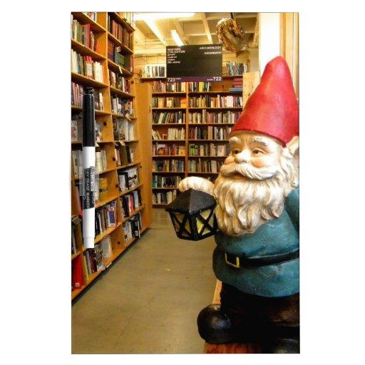 Library Gnome I Dry-Erase Board