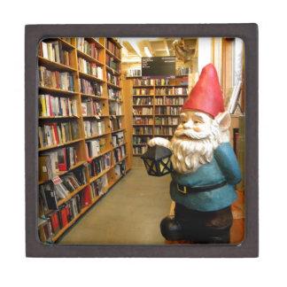 Library Gnome I Jewelry Box