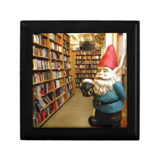 Library Gnome I Keepsake Box