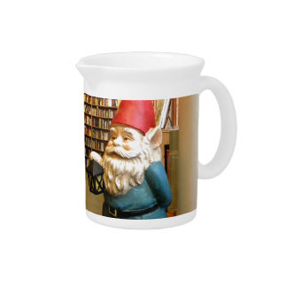 Library Gnome I Pitcher