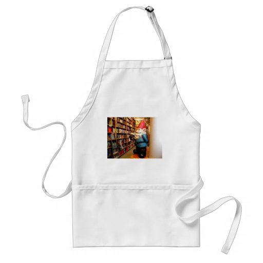 Library Gnome II Adult Apron