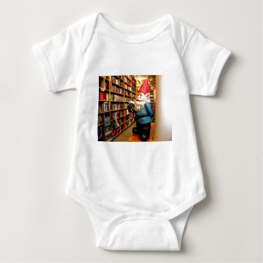 Library Gnome II Baby Bodysuit