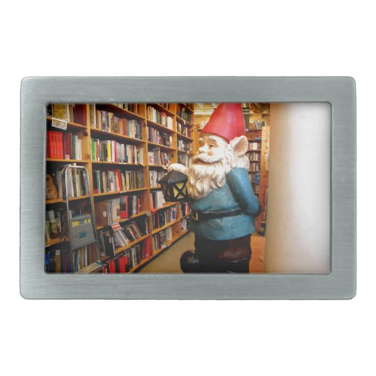 Library Gnome II Belt Buckle