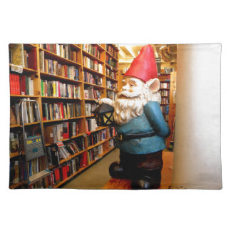 Library Gnome II Cloth Placemat