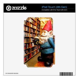 Library Gnome II Decals For iPod Touch 4G