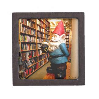 Library Gnome II Keepsake Box