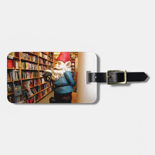 Library Gnome II Luggage Tags