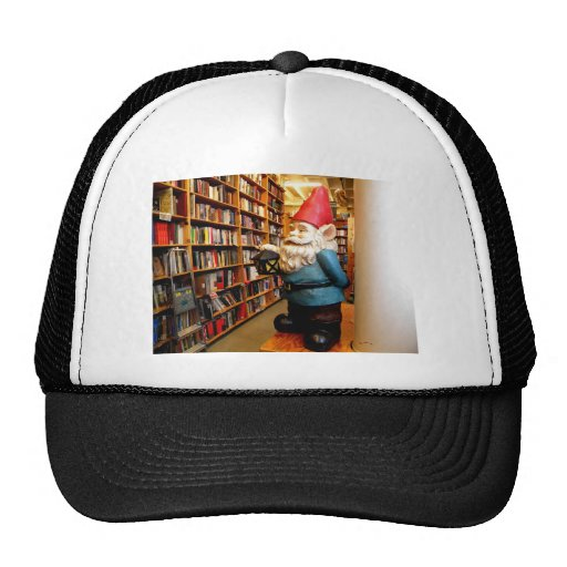 Library Gnome II Mesh Hats