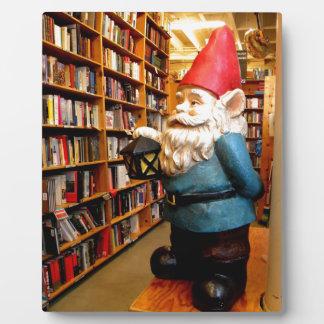 Library Gnome II Plaque