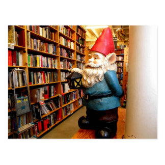 Library Gnome II Postcard