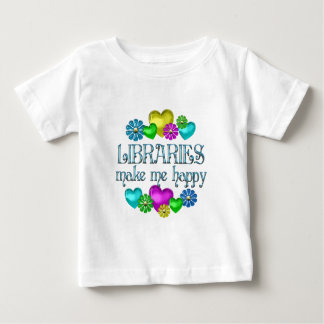 Library Happiness Baby T-Shirt