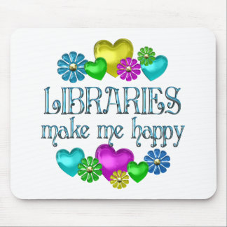 Library Happiness Mouse Pad