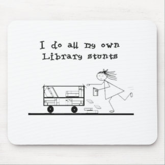 Library Hero Mouse Pad