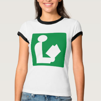 Library Highway Sign T-Shirt
