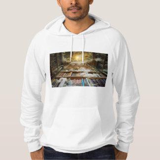 library hoodie