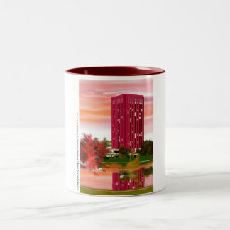 Library in Fall by Tam Nguyen Coffee Mug