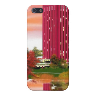 Library in Fall by Tam Nguyen iPhone 5 Cases