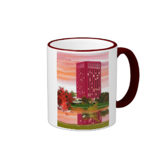 Library in Fall by Tam Nguyen Coffee Mugs