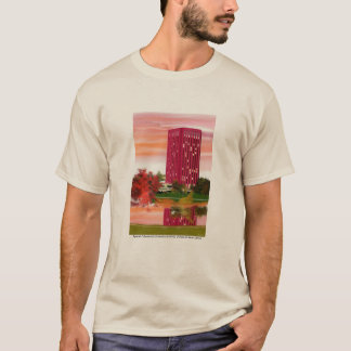 Library in Fall by Tam Nguyen T-Shirt