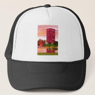 Library in Fall by Tam Nguyen Trucker Hat