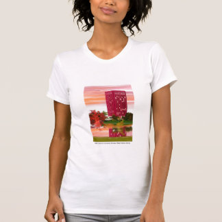Library in Fall by Tam Nguyen T-shirts