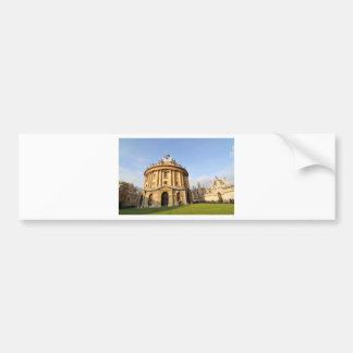 Library in Oxford, England Bumper Sticker