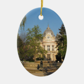 Library in Ruse, Bulgaria Christmas Tree Ornament