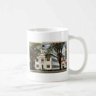 Library, Lenox, Massachusetts 1932 Vintage Classic White Coffee Mug