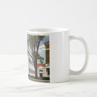 Library, Lenox, Massachusetts 1932 Vintage Coffee Mug