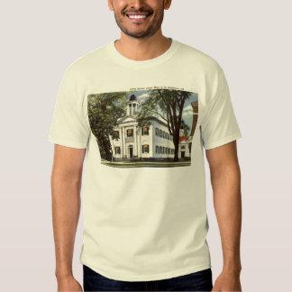 Library, Lenox, Massachusetts 1932 Vintage Shirt