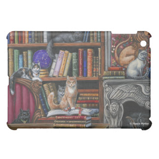 Library Lions Cats and Books iPad Case