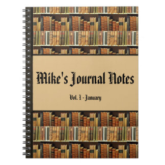 Library Look Personalized Journal