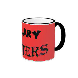 Library Looters Ringer Coffee Mug