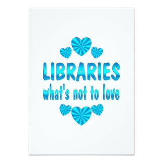 LIBRARY LOVE ANNOUNCEMENT