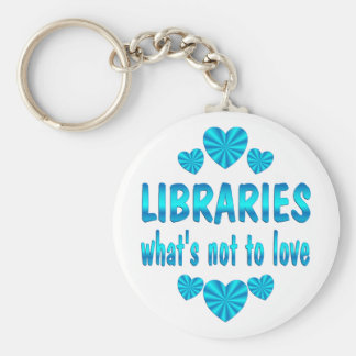 LIBRARY LOVE KEYCHAIN