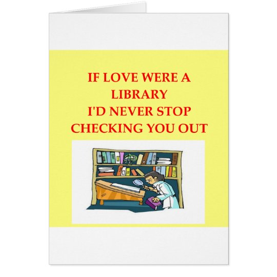 LIBRARY lovers Card