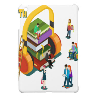 Library Lovers' Month - Appreciation Day Cover For The iPad Mini