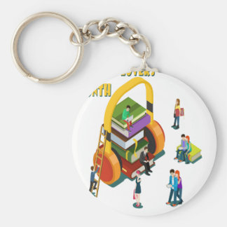 Library Lovers' Month - Appreciation Day Keychain