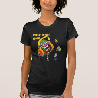 Library Lovers' Month - Appreciation Day T-Shirt