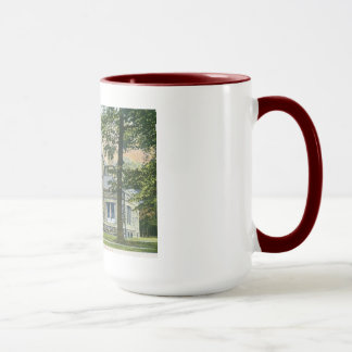Library, Madison, New Jersey Vintage Mug