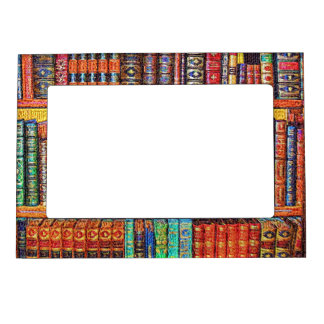 Library Magnetic Photo Frame