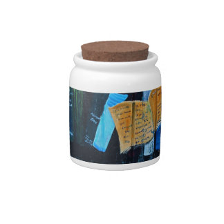 Library Mural Candy Jars