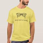 library nerd in training T-Shirt