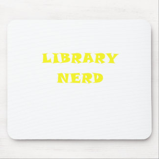 Library Nerd Mouse Pad